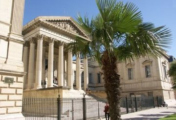 Law court of Montpellier