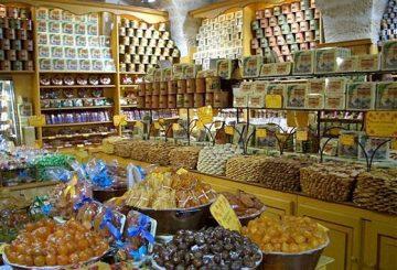 Small shop with local delicatesses