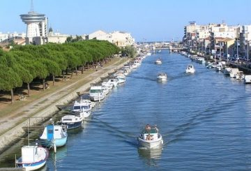 Palavas les Flots : the beach resort of Montpellier