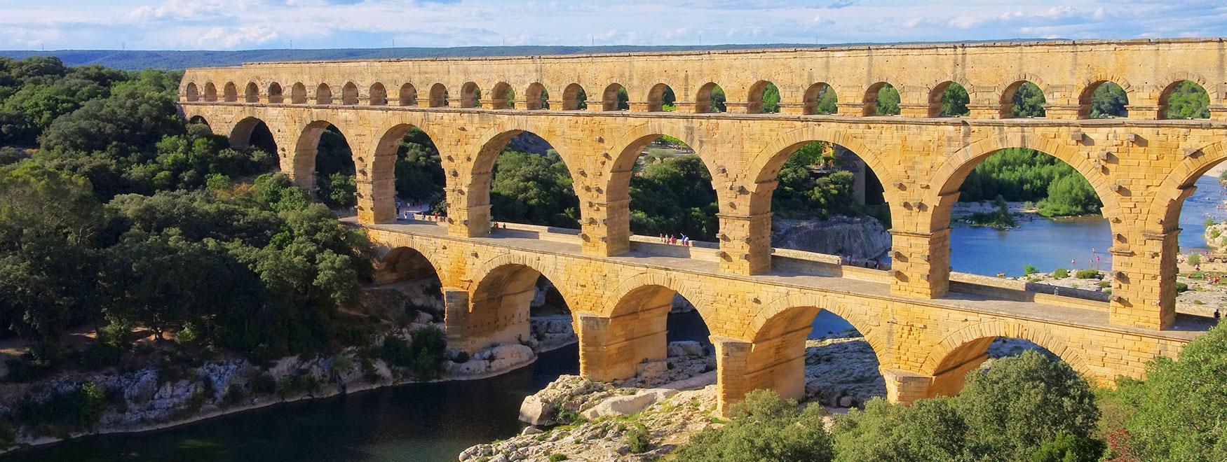 Excursion Uzès, Pont du Gard et Avignon